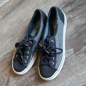 Keds shoes black & gray 7